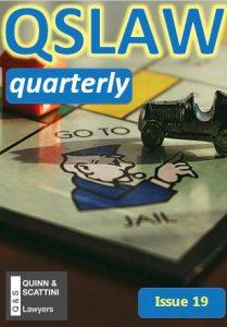 QSLAW Quarterly Issue 19