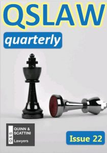 QSLAW Quarterly Issue 22