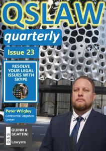 QSLAW Quarterly Issue 23