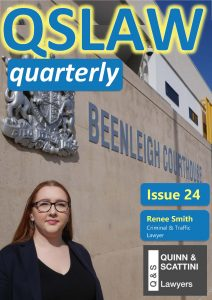 QSLAW Quarterly Issue 24 Cover