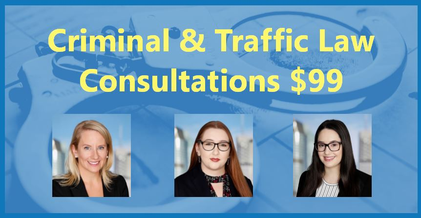 Criminal & Traffic Law Consultations