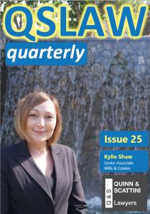 QSLAW Quarterly Issue 25