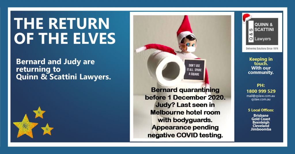 Naughty Elves Quinn Scattini Lawyers